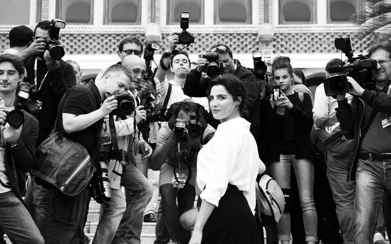 Luisa Ranieri Mostra del Cinema foto di Elena Tubaro