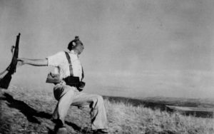 Robert Capa - Death of a loyalist militiaman, Cordoba Front, early September 1936