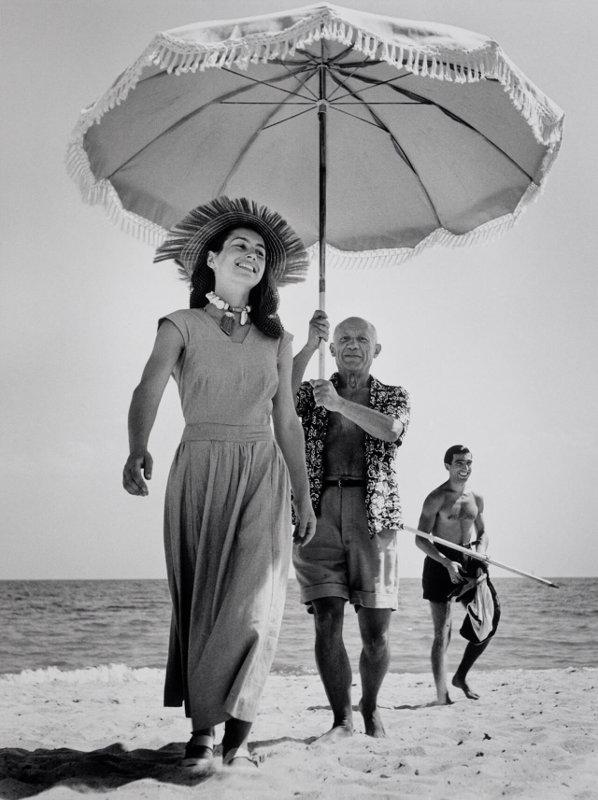 Robert Capa-Pablo Picasso Françoise Gilot