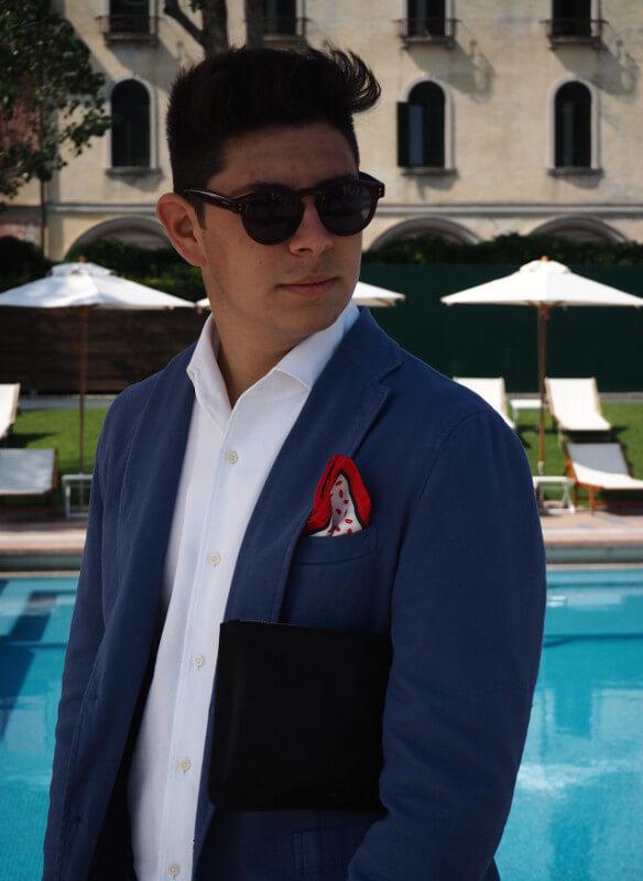 giacca pochette Excelsior ph settimo cannatella