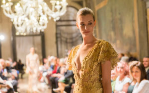 sfilata a Ca' Sagredo per Venice Fashion Night