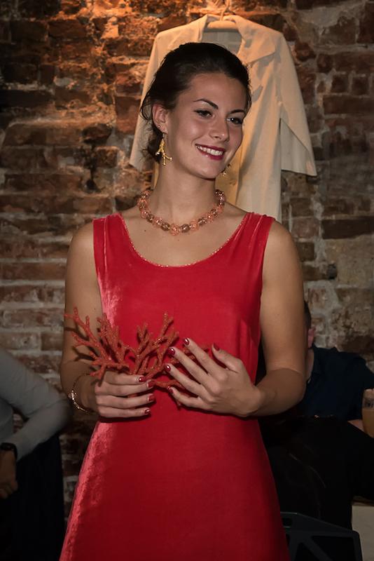 gioielli Marisa Convento, tubino RRaro, Caffè Centrale, ph Rossana Viola