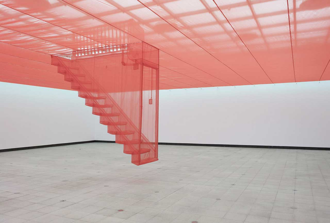 Do Ho Suh – Staircase – V, 2003/04/08 at Psycho Buildings (Photography by Stephen White)