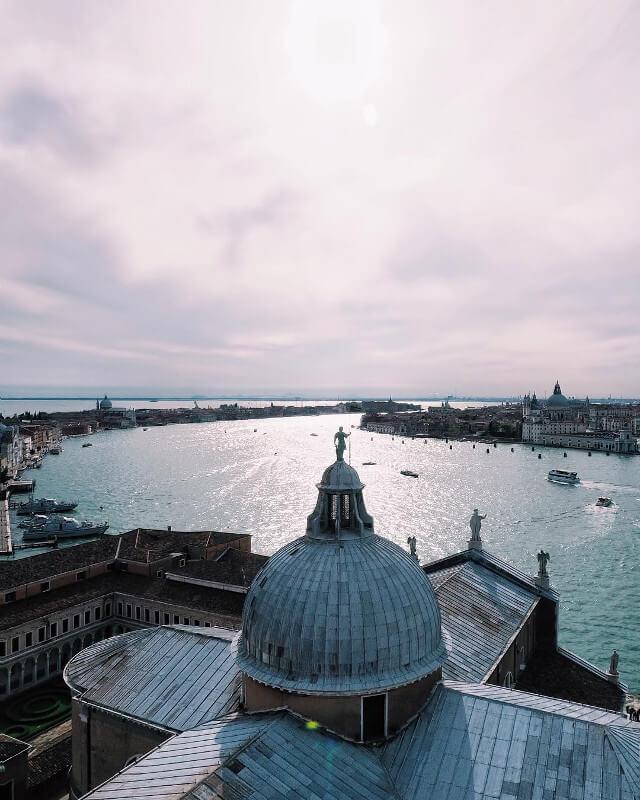 San Giorgio dal campanile, foto di Lorenzo Cinotti