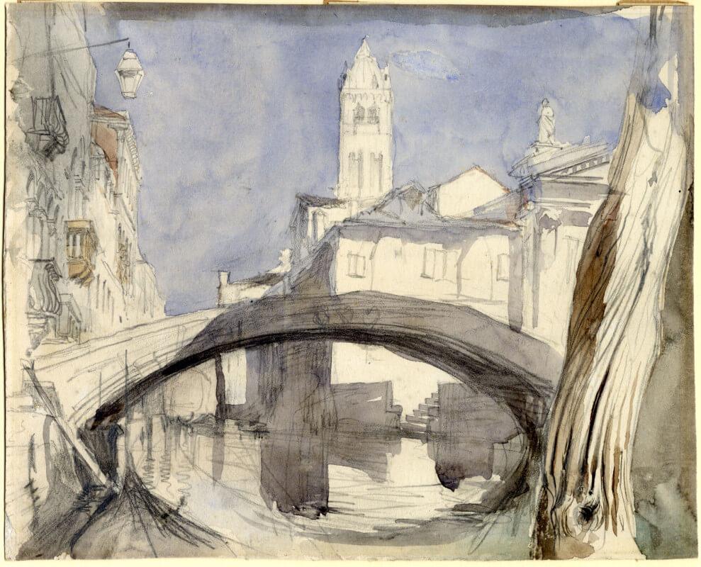 Pietre di Venezia - Ruskin schizzo