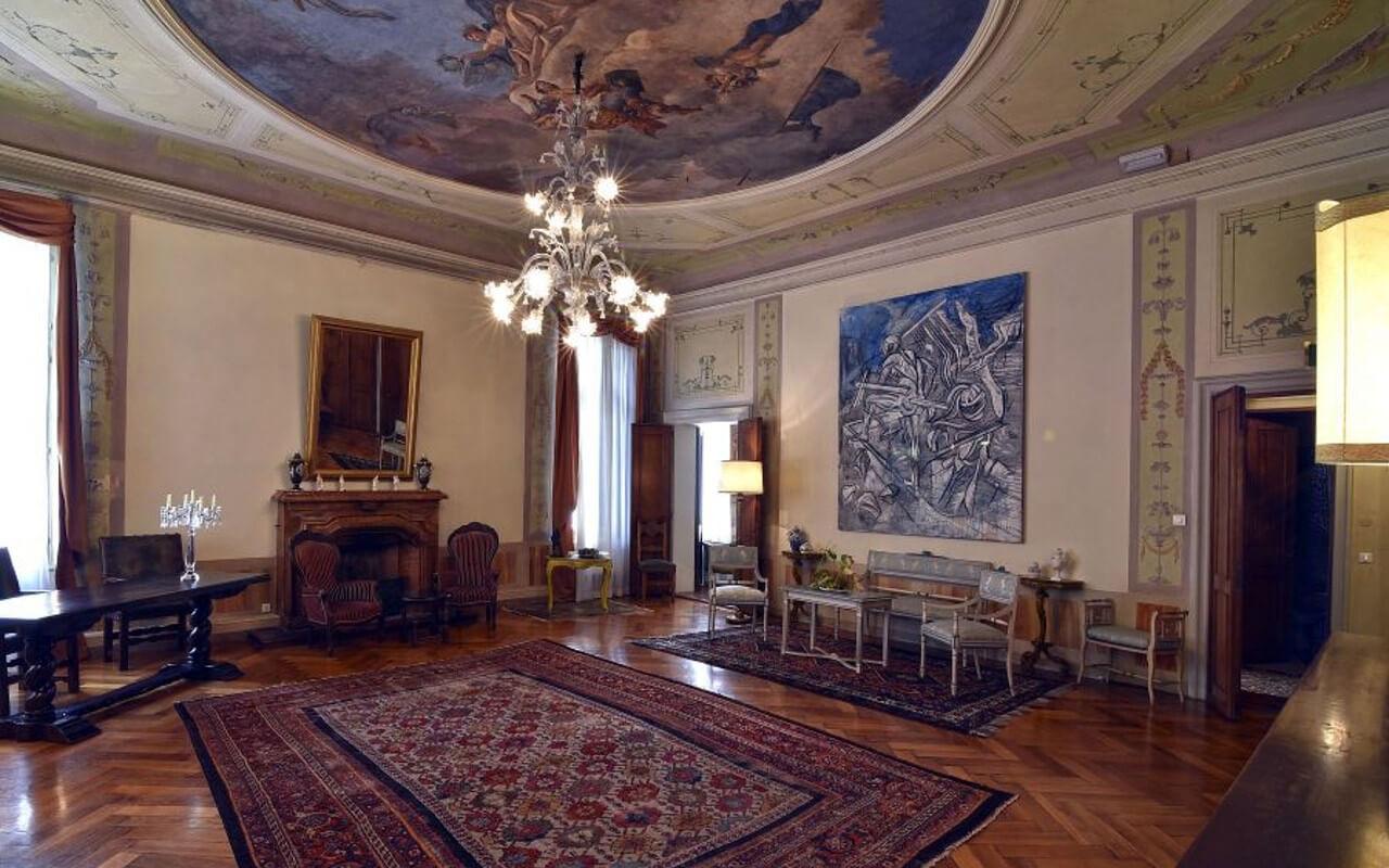 Palazzo Marin affreschi