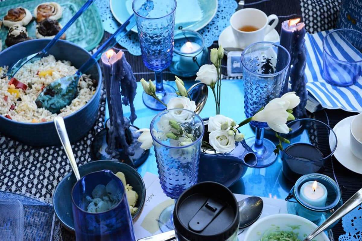 Le petit déjeuner en blu ph. Pietro Gallina