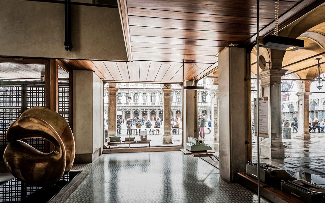 Spazio Olivetti di Carlo Scarpa - Piazza San Marco - Venezia