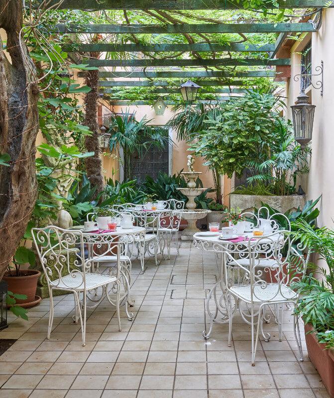 Hotel Bel Sito - giardino