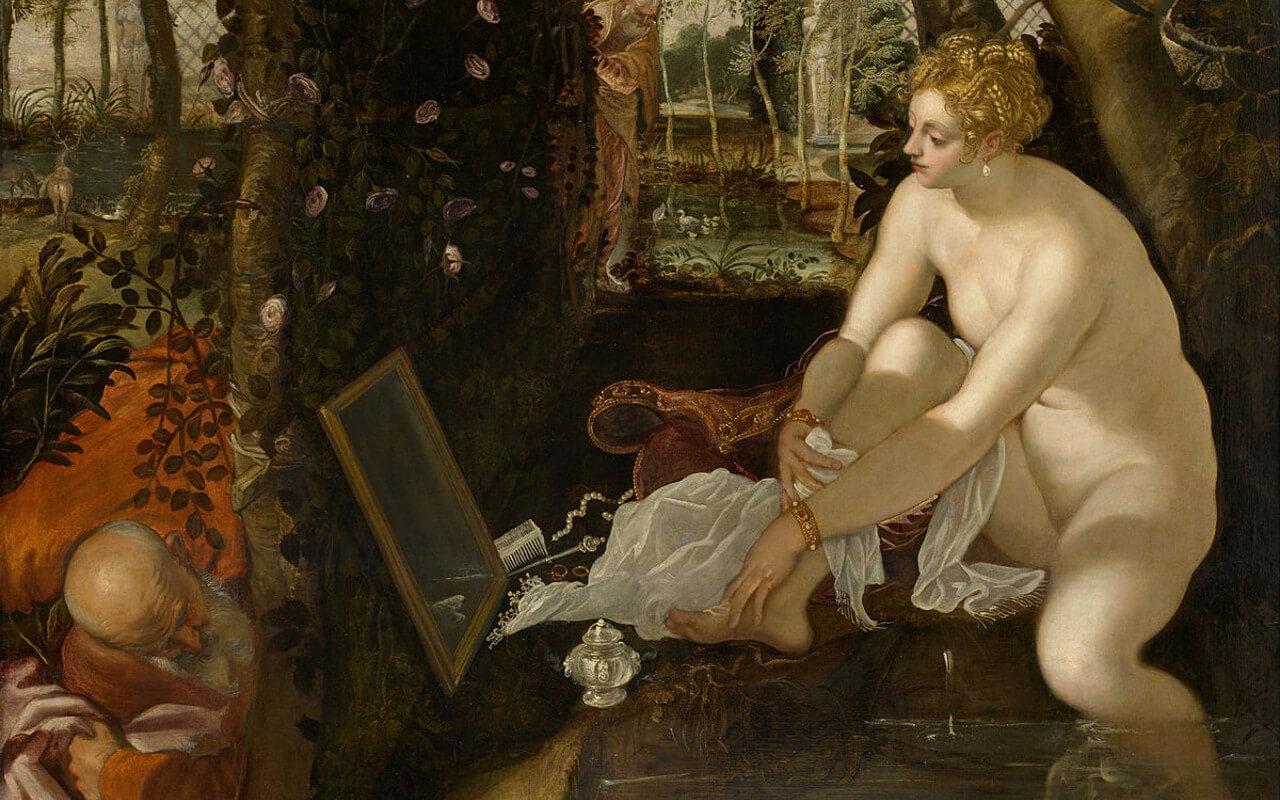Jacopo Tintoretto - Susanna e i Vecchioni