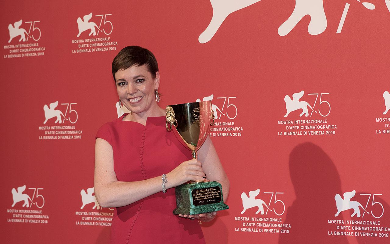 Olivia Colman Ph Rossana Viola Veneziadavivere Venezia75 Cinema2018 Premiazioni