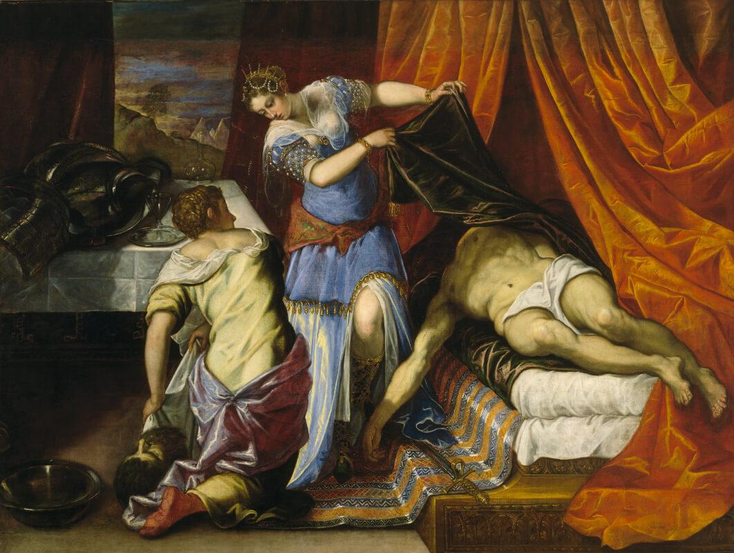 Tintoretto - Giuditta e Oloferne