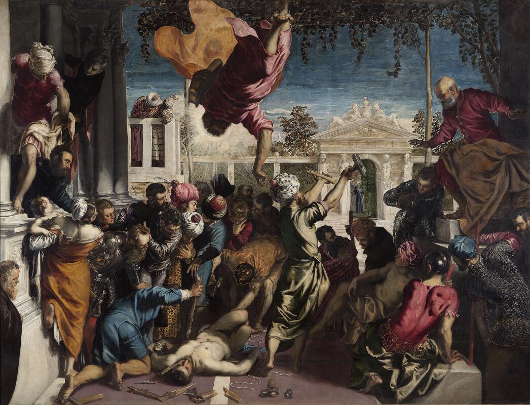 Tintoretto - Miracolo dello schiavo