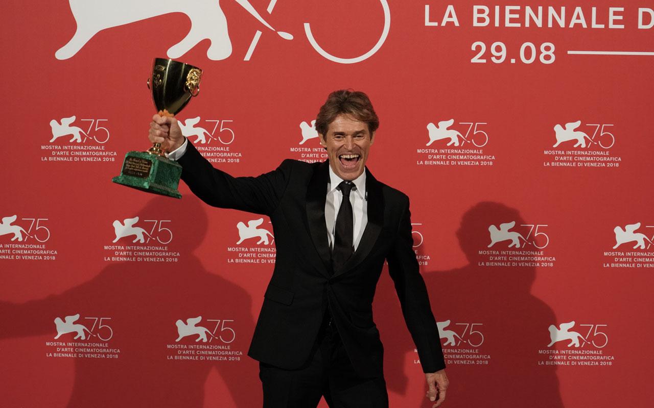 Willem Dafoe Ph Cristina Di Bella Veneziadavivere Venezia75 Cinema2018 Premiazioni