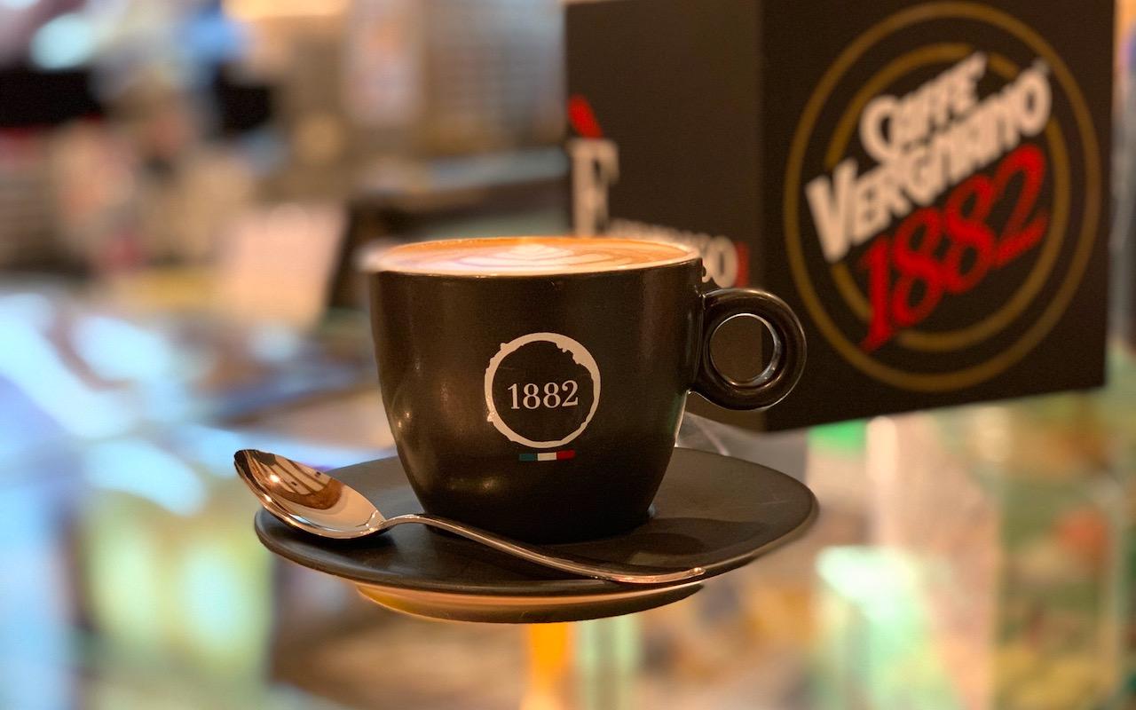 Il nuovo stile di Caffè Vergnano 1882 a Rialto