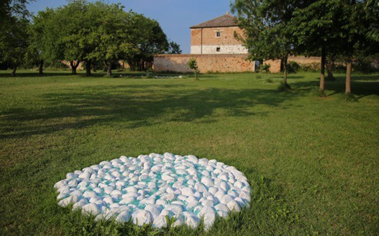 I.Barlafante Cuore bianco 2016 Courtesy Galleria Michela Rizzo