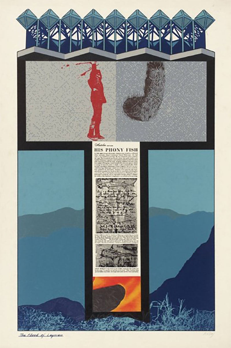 R.B. Kitaj, The Flood of the Layman, 1967