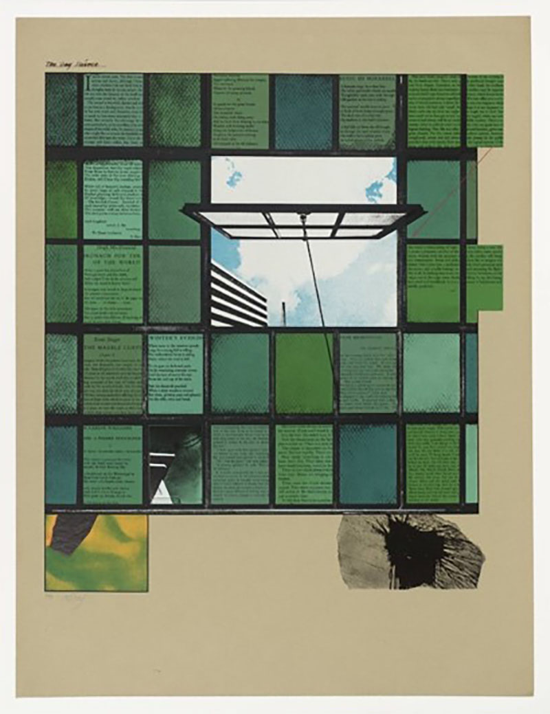 R.B. Kitaj, The Gay Science, 1965, Screenprint on paper, 77,2x58,7cm copy