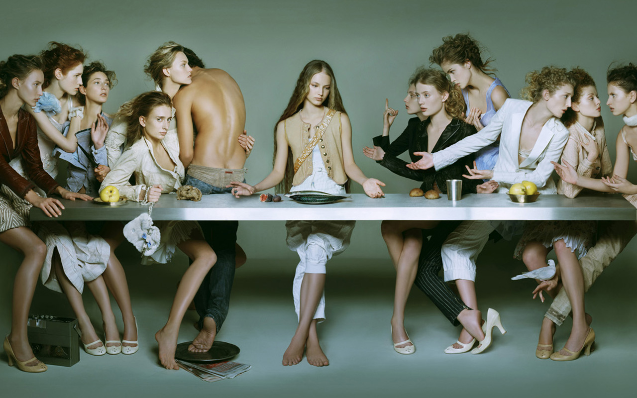 The Last Supper di Brigitte Niedermair