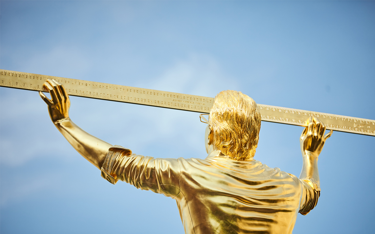 Jan Fabre-The man who measures the clouds