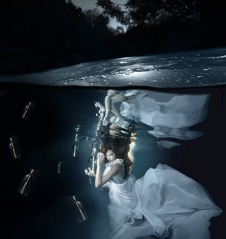 Gisele A. Lubsen Conceptual Underwater Photographer