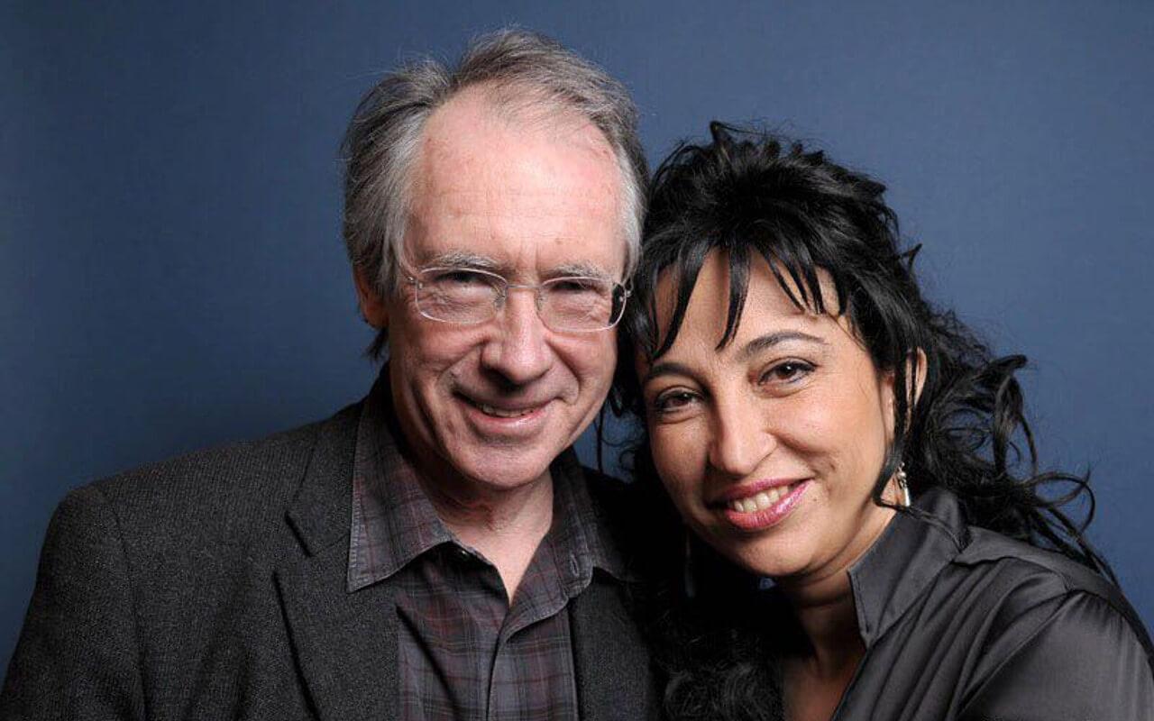Ian McEwan and Eugenia Rico at the Incroci di Civiltà Festival