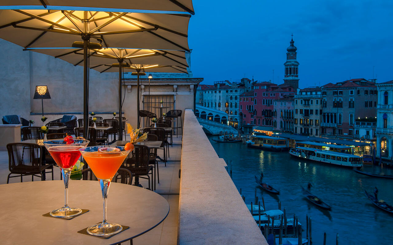 H10 Palazzo Canova, una delle terrazze più belle di Venezia