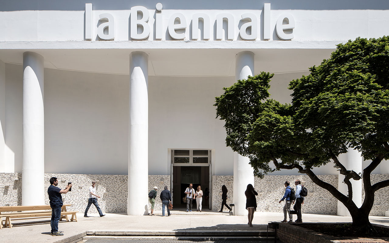 Padiglione Centrale Giardini - Photo by Francesco Galli Courtesy of La Biennale di Venezia