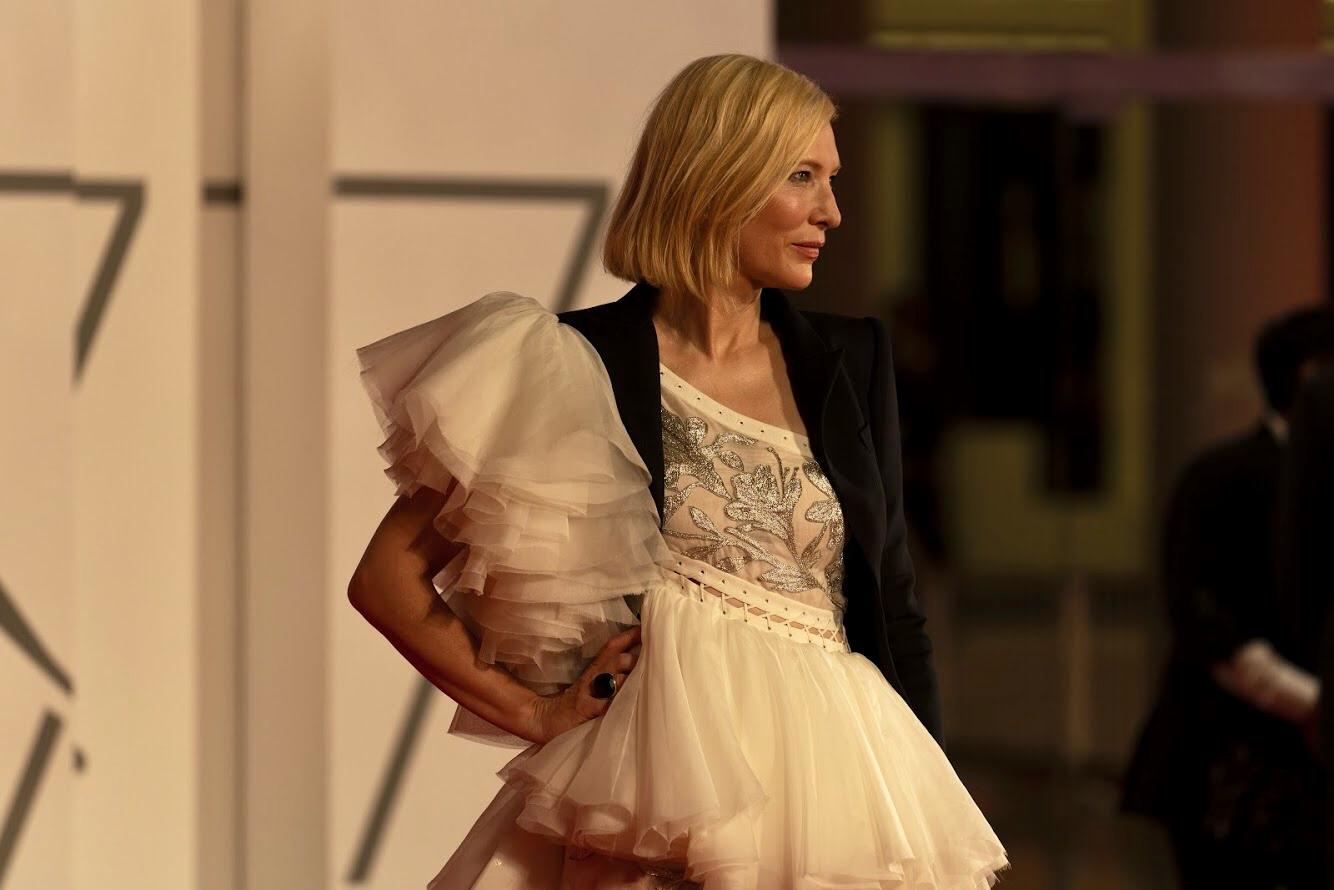 Cate Blanchett - ph. Cristina di Bella - 77ma Mostra Internazionale del Cinema di Venezia 2020