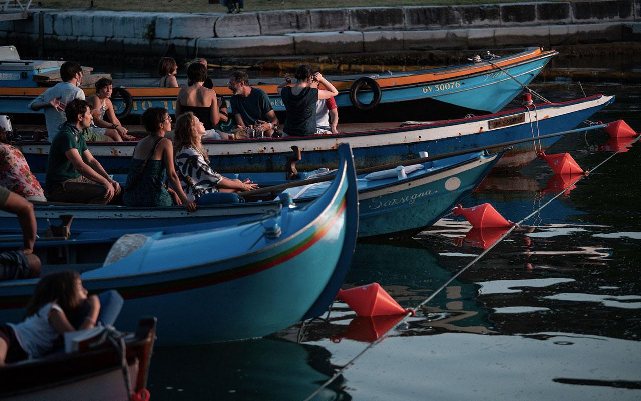 Cinema Barch-in, il cinema sull'acqua a Venezia